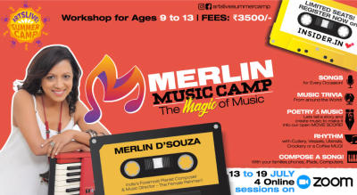 Merlin Music Camp - presented by ArtsLive! Summer Camp