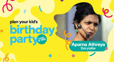 Birthday Party for Little Kids with Aparna Athreya - Storyteller