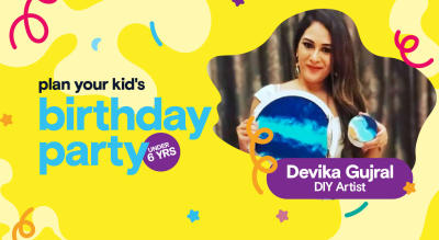Birthday Party for Little Kids with Devika Gujral - DIY Activities