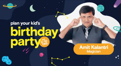 Birthday Party for Kids with Amit Kalantri - Magician