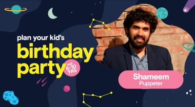 Birthday Party for Kids with Mohammed Shameem - Puppet Show