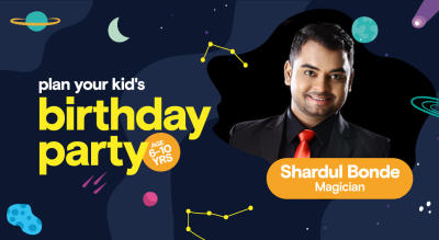 Birthday Party for Kids with Shardul - Magician