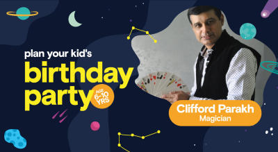 Birthday Party for Kids with Clifford Parakh - Magician