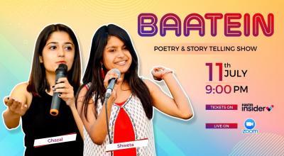 Baatein: Poetry & Storytelling Show