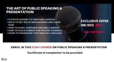 MASTER the Art of Public Speaking & Presentation