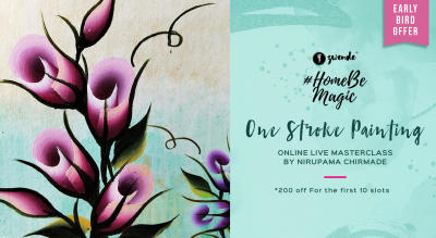 One Stroke Painting Online Live Masterclass