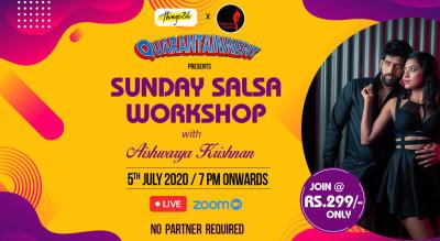 SUNDAY SALSA WORKSHOP with Aishwarya Krishnan