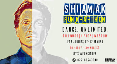 SHIAMAK Funk-A-Thon - Juniors' Batch (7 - 12 years) | Online Dance Classes
