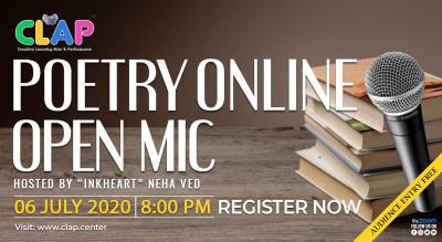 Online Poetry Open Mic
