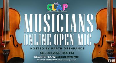 Online Musicians Open Mic