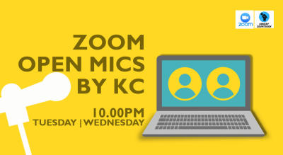 Zoom Open Mics By KC
