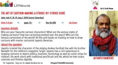 The Art of Cartoon-Making: a Stroke-by-Stroke Guide