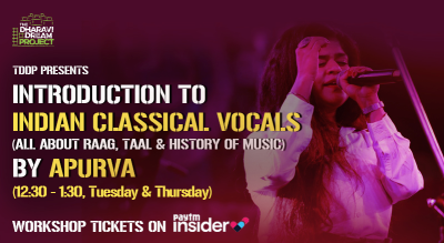 #AfterSchoolOfHipHop's Online Indian Classical Vocals  workshop with  Apurva!