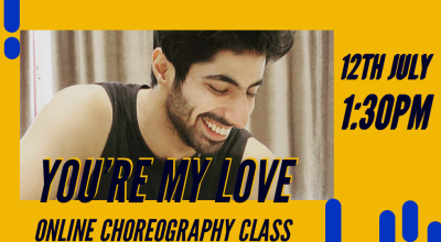 You're My Love - Online Bollywood Session with Prateek Aneja