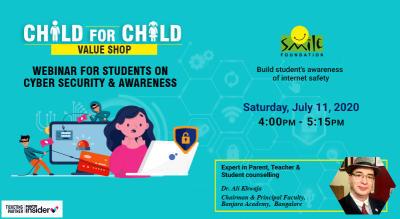 Child for Child Webinar on Cyber Awareness