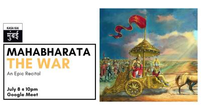 Mahabharata Recital - The War At Google Meet