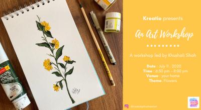 Art Workshop-Botanical flowers