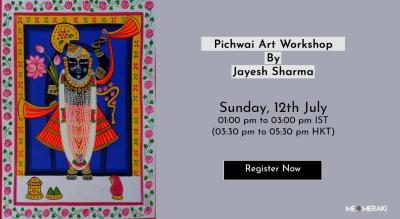 Pichwai Painting Workshop With Jayesh Sharma