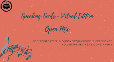 Speaking Souls : Virtual Open Mic