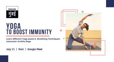 Yoga to boost Immunity with Archita Rege At Google Meet