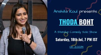 Thoda Boht By Anshita Koul