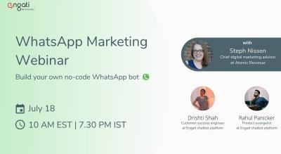 Build a no code WhatsApp Chatbot