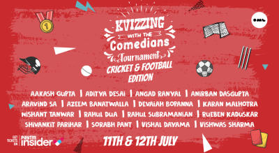 Kvizzing With the Comedians Tournament | Cricket & Football Edition