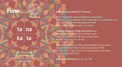 ta . na . ta . ka : Global young citizens encounter India's pluriverse