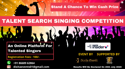TALENT SEARCH SINGING COMPETITION