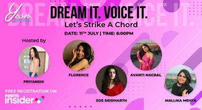 YOSN Innovations Presents DREAM IT. VOICE IT. with Priyanshi
