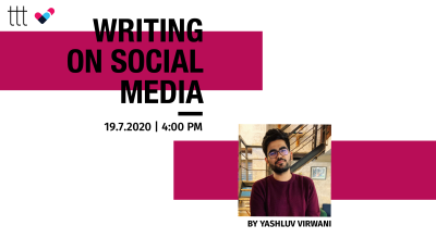 Writing on Social Media Workshop by Terribly Tiny Tales