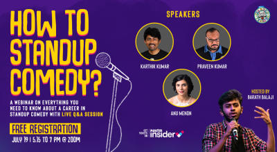 How To Standup Comedy? (Webinar)