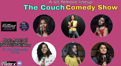 The Couch Comedy: A femal lineup show