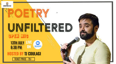 Poetry Unfiltered Open Mic ft. Tj Coulagi
