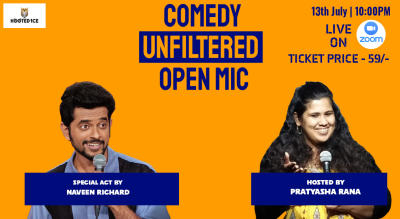 Comedy Unfiltered Open Mic ft. Naveen Richard