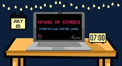 House of Stories | Storytelling. Poetry. Music