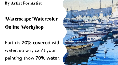Waterscape Watercolor Workshop with BAFA