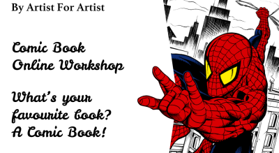 Comic Book Online Workshop with BAFA