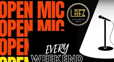 Open Mic I Poetry I Singing I Stand-up Comedy I Music I Lafz Entertainments