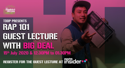 #AfterSchoolofHipHop's Online RAP 101 Guest Lecture with Big Deal!