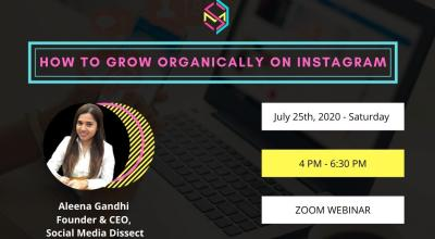 How to Grow Organically on Instagram