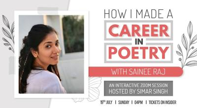 How I Made A Career In Poetry ft. Sainee Raj