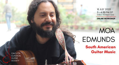 Moa Edmunds online workshop: South American Guitar Music