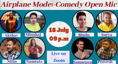 Airplane Mode-Comedy Open Mic