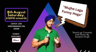 Mujhe Laga Funny Hoga I Trial show by Sanjeet Singh I Stand Up Comedy I Lafz Entertainments