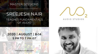 Sreejesh Nair Teaches Fundamentals of Audio