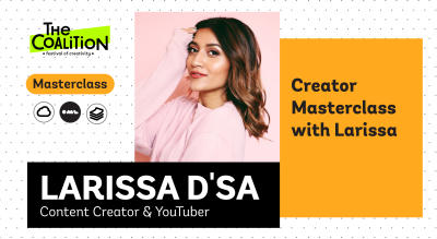 TC Masterclass: Creator Masterclass with Larissa
