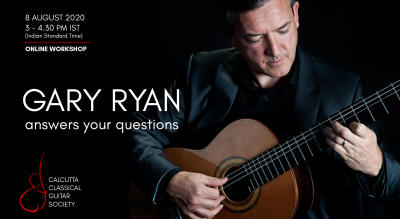 Gary Ryan classical guitar workshop