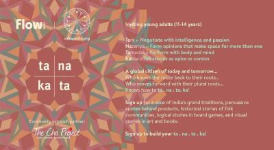 ta . na . ta . ka : Global young citizens encounter India's pluriverse