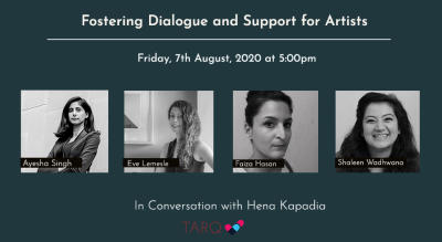 TARQ | Fostering Dialogue and Support for Artists